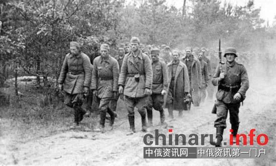 俄罗斯档案:二战时部分苏联人视德军为救星