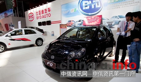 力帆汽车制造厂就中国汽车的组装将集中于乌拉尔生产场地事项签署了议