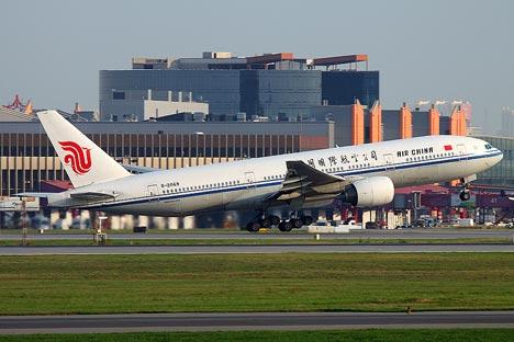 中国政府欲获得俄罗斯包机航线运营资格